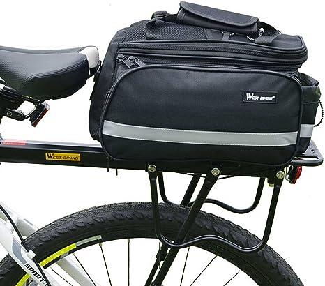 West ciclismo ajustable bicicleta equipaje carga accesorio de ...