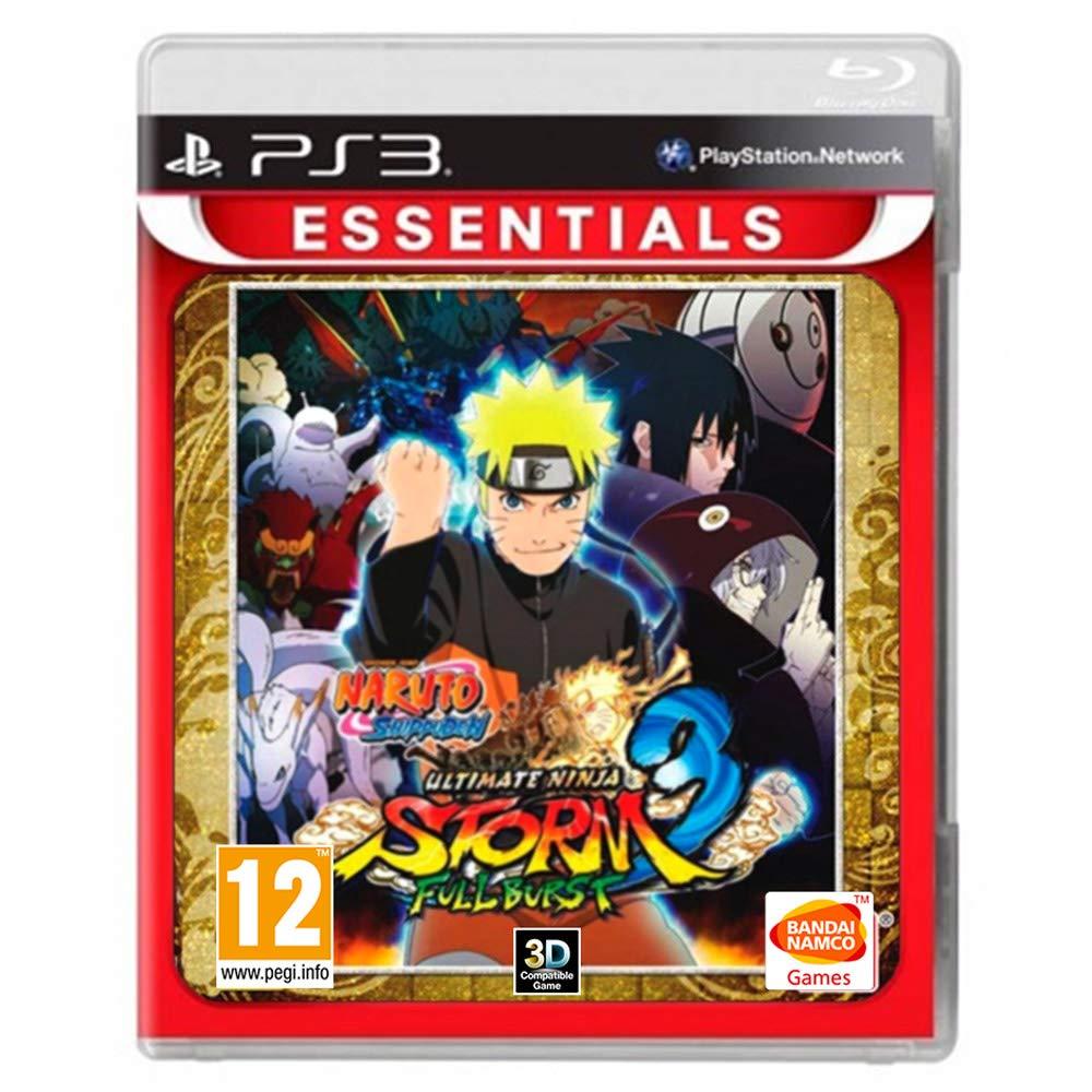 Naruto Ninja Storm 3 Full Burst Essentials (PS3)