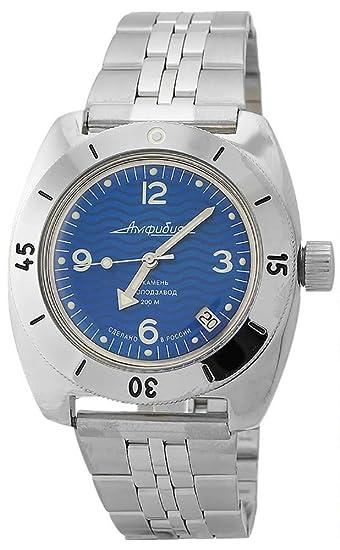 Vostok Classic de anfibios Militar ruso Diver reloj 2416/150346: Amazon.es: Relojes