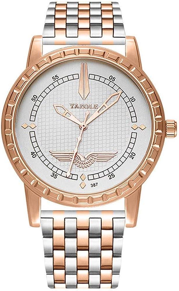 Relojes Impermeables con Gran Esfera De Cuarzo para El Negocio De Los Hombres. Reloj De Pulsera