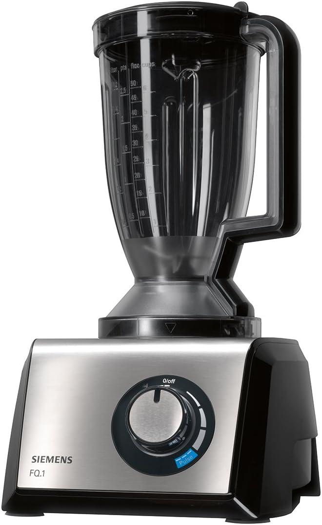 Siemens MK860FQ1 FQ.1 - Procesador de alimentos compacto (acero inoxidable cepillado), color negro: Amazon.es: Hogar