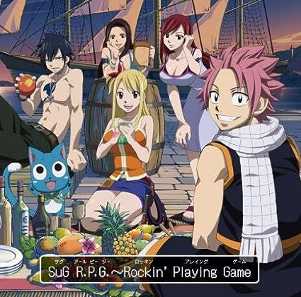Amazon.co.jp: R.P.G.~Rockin' Playing Game<FAIRY TAIL盤CD+DVD>: 音楽