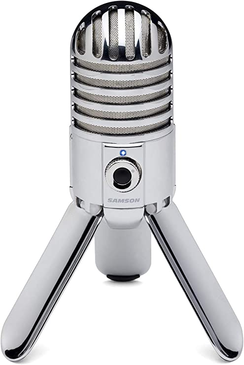Micro Usb Condensateur Cardioide Dj Studio Chant Live Voix Podcast Pc Mac Silver