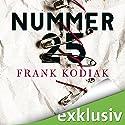 Nummer 25 Hörbuch von Frank Kodiak Gesprochen von: Richard Barenberg