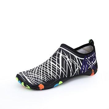 Lucdespo Natación Zapatos, Hombres Calzado de Playa ...