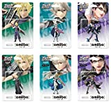 Nintendo Amiibo Super Smash Bros. Cloud Kamui (Corrin) Bayonetta set Japanese Ver.