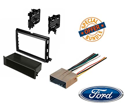image unavailable  image not available for  color: 2007-2008 f-150 car stereo  cd player radio installation dash kit