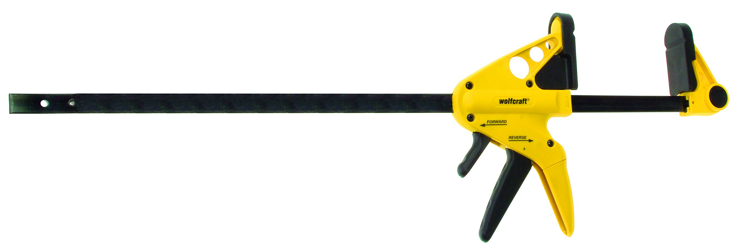 wolfcraft 3450403 Quick-Jaw One-Hand Bar Clamp and Spreader, 24in.