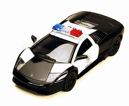 Amazon Com Lamborghini Murcielago Lp640 4 1 36 Police Car By