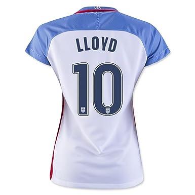 6e9a74dd519 Amazon.com  Lloyd  10 USA Home Soccer Jersey Rio 2016 Olympics ...