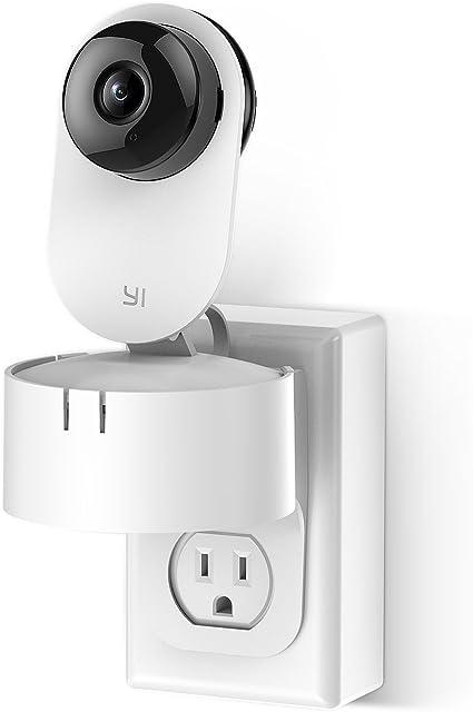 For Nest Indoor Camera Cam Bracket Holder Swivel Outlet Wall Plug Mount Stand