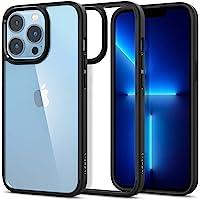 Spigen Ultra Hybrid etui kompatybilne z iPhone 13 Pro -matowy czarny