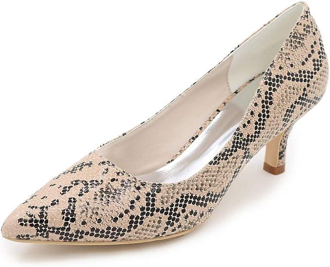 Chaussures De À ZM Femme Hauts Bout Pointu Shoes Talons fyvbY76g