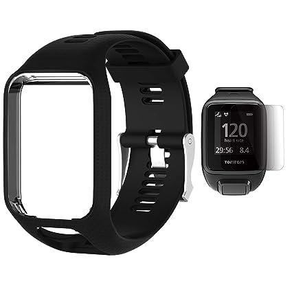Amazon.com  TUSITA Wristband for Tomtom Runner 2 3 Spark Spark 3 ... 3bcb2b3e4ec