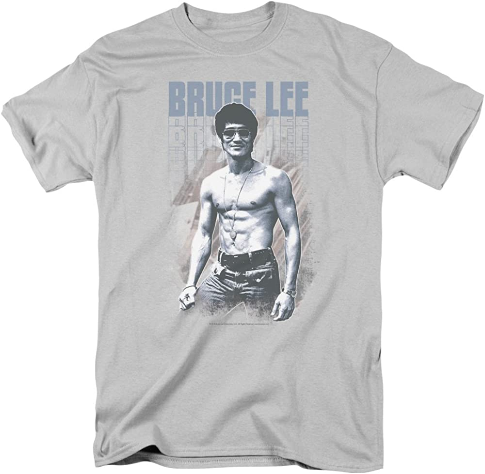 Bruce Lee Toddler T-Shirt Stare Portrait Charcoal Tee