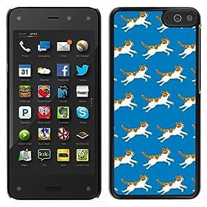 Dragon Case - FOR Amazon Fire Phone - Run of the kitten - Caja protectora de pl??stico duro de la cubierta Dise?¡Ào Slim Fit