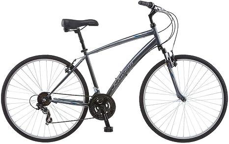 Schwinn Network 1.0 700c Bicicleta híbrida para hombre, 18 ...