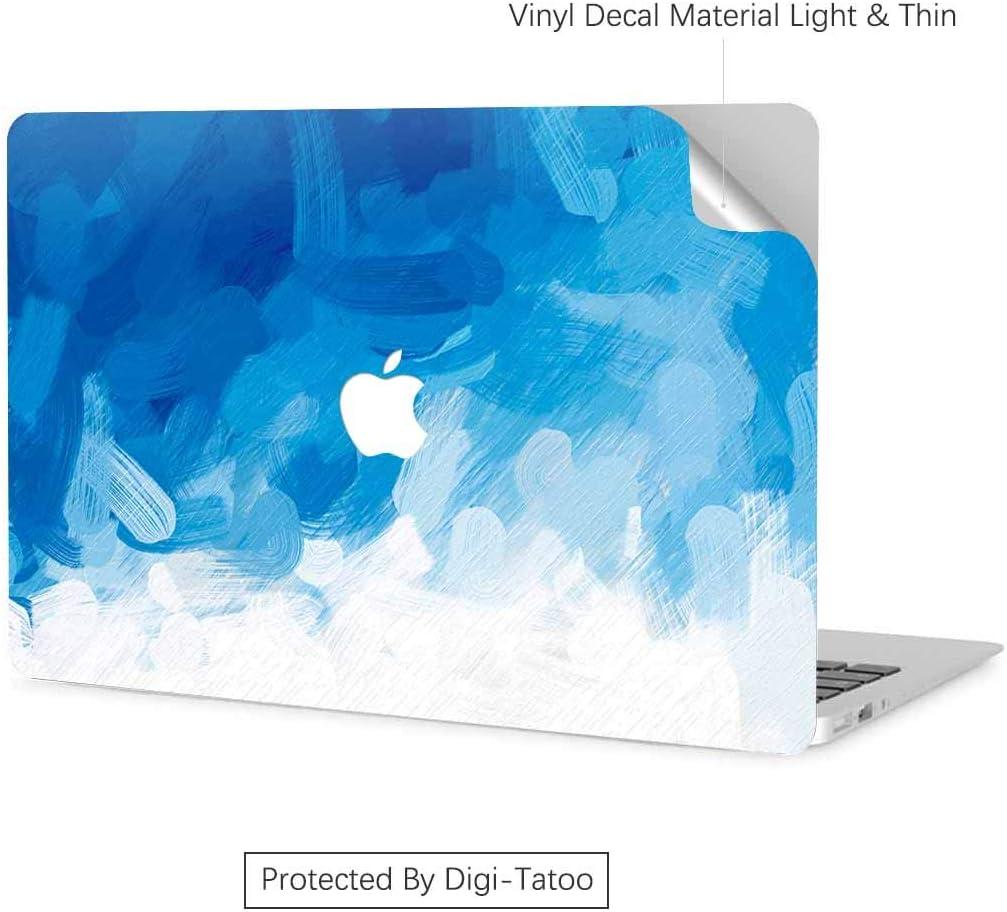 Facile /à appliquer Digi-Tatoo Skin autocollant en vinyle pour MacBook Air Pro 13 16 sans r/ésidus anti-rayures 15