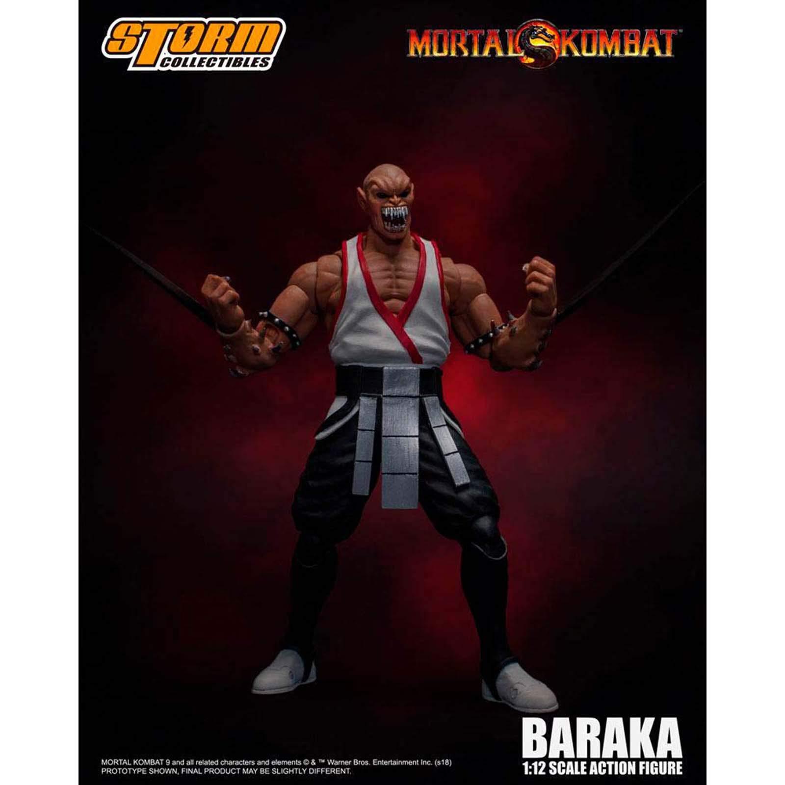Mortal Kombat Storm COLLECTABLES Baraka Figure