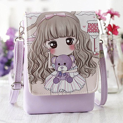 Clearance! Shoulder Bags Women'sCartoon Handbags Kids Girls Princess Cute Mini Crossbody Bag Rucksack by Sinzelimin (Image #1)