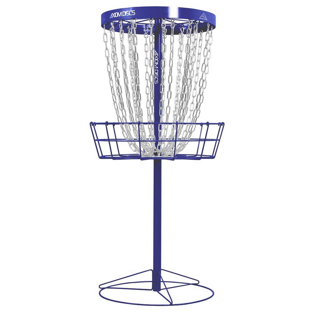 Axiom Discs Pro 24-Chain Disc Golf Basket - Royal Blue