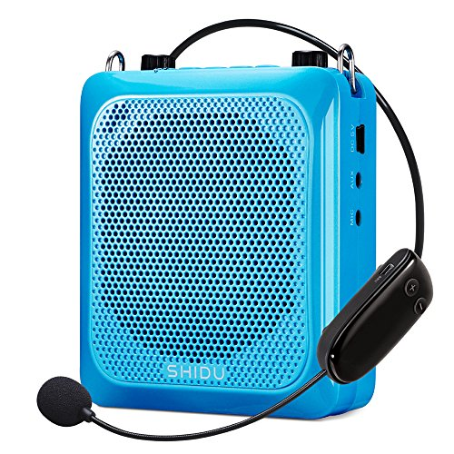 Wireless Voice Amplifier, Btree 30W Electronic Voice Amplifier, Portable Microphone Voice Amplifier, Rechargeable PA System Speakers with Handheld & Headset Microphone for Teachers, Guides by Btree