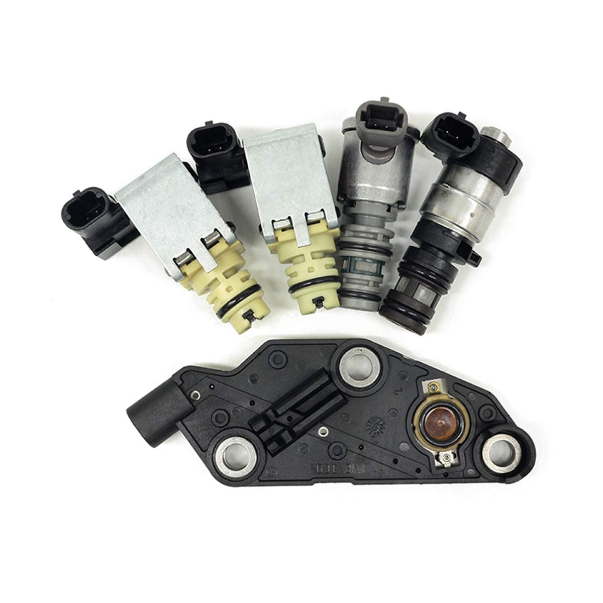 4T65E Transmission Master Solenoid Kit Set Replacement for EPC Shift TCC GM 1997-2002 99149 TCC /& PWM Downshift Solenoid Manifold Pressure Switch Compatible With GM /& Buick /& Chevrolet /& Pontiac 2003