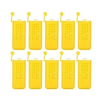 Queen Cage, 10 piezas de jaulas de abejas reina de plástico que ...