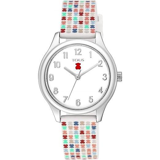 Reloj Tous 900350245 Tartan Kids de Acero con Correa de Silicona: Amazon.es: Relojes