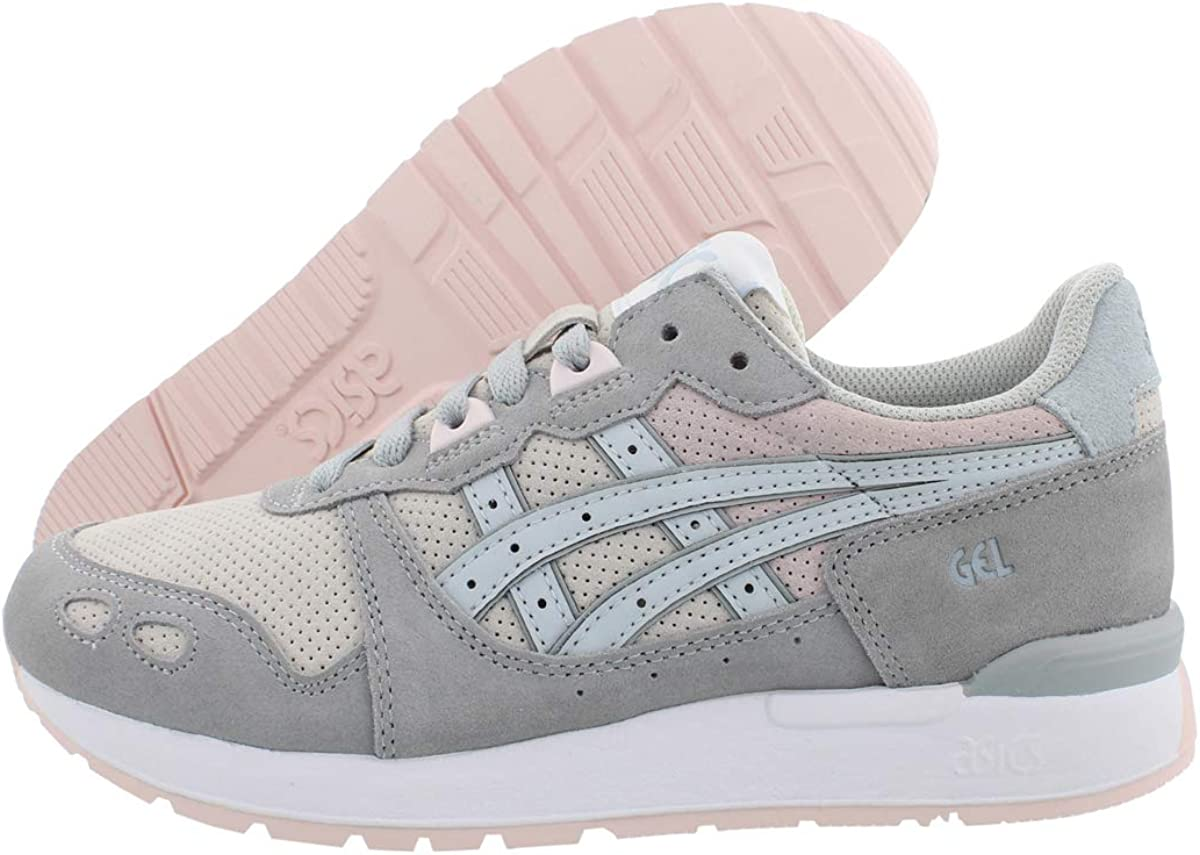ASICS Womens Gel-Lyte Casual Sneakers, Grey, 6.5