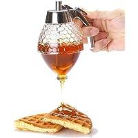 Fashion Honey Dispenser, Honey Jar Juice Dispenser Honey Bee Drip Bottle