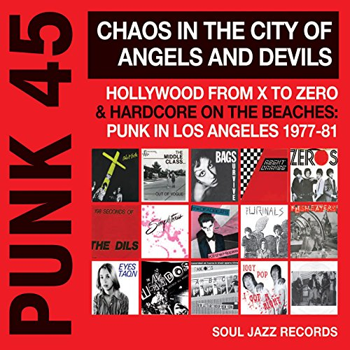 VA - Punk 45 Chaos In The City Of Angels And Devils - CD - FLAC - 2016 - NBFLAC Download