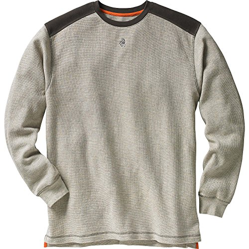 Legendary Whitetails Men's Contour Thermal Crew Thicket Heather X-Large Tall