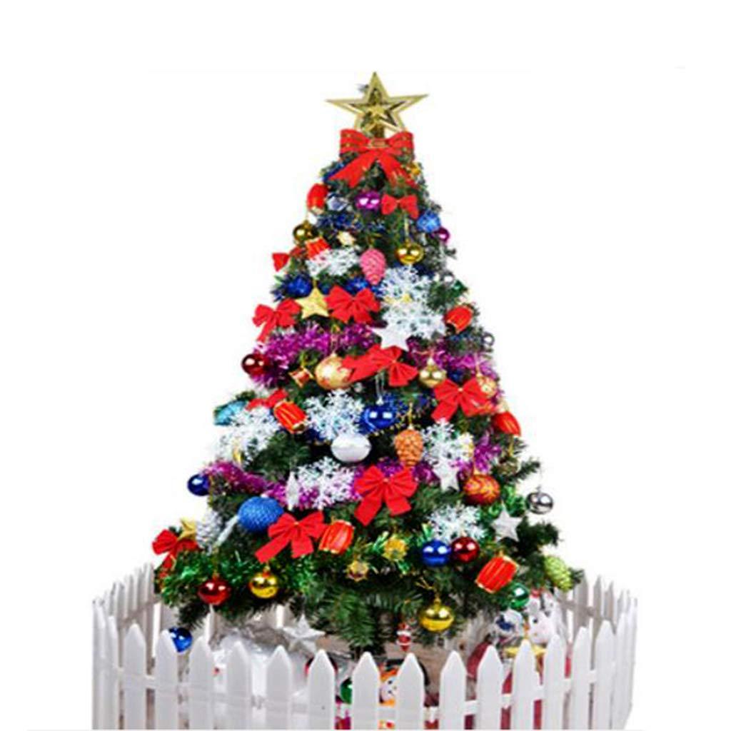 DZWLYX ARBOL Navidad Grande Árbol de Navidad Blanco Falda de Felpa ...