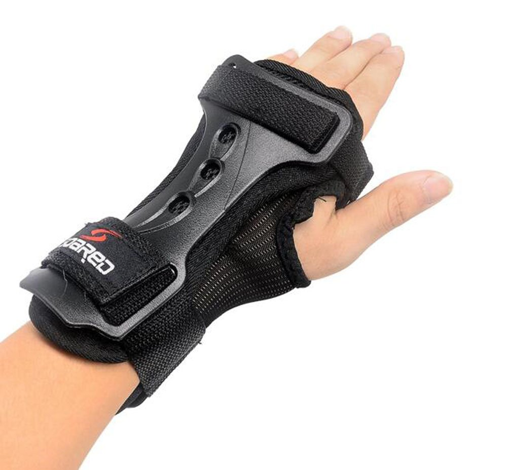 OSA Impact Wrist Guard Protective Gear Gloves Carpal Tunnel Wrist Brace Support Snowboarding, Skating, Skiing (XL)