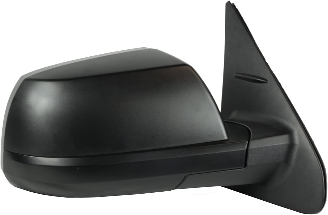 Textured Black Fit System 70227T Passenger Side Mirror for Toyota Tundra Sequoia SR5// TRD Model Passenger Side Heated Power Foldaway w//Blind spot Detection