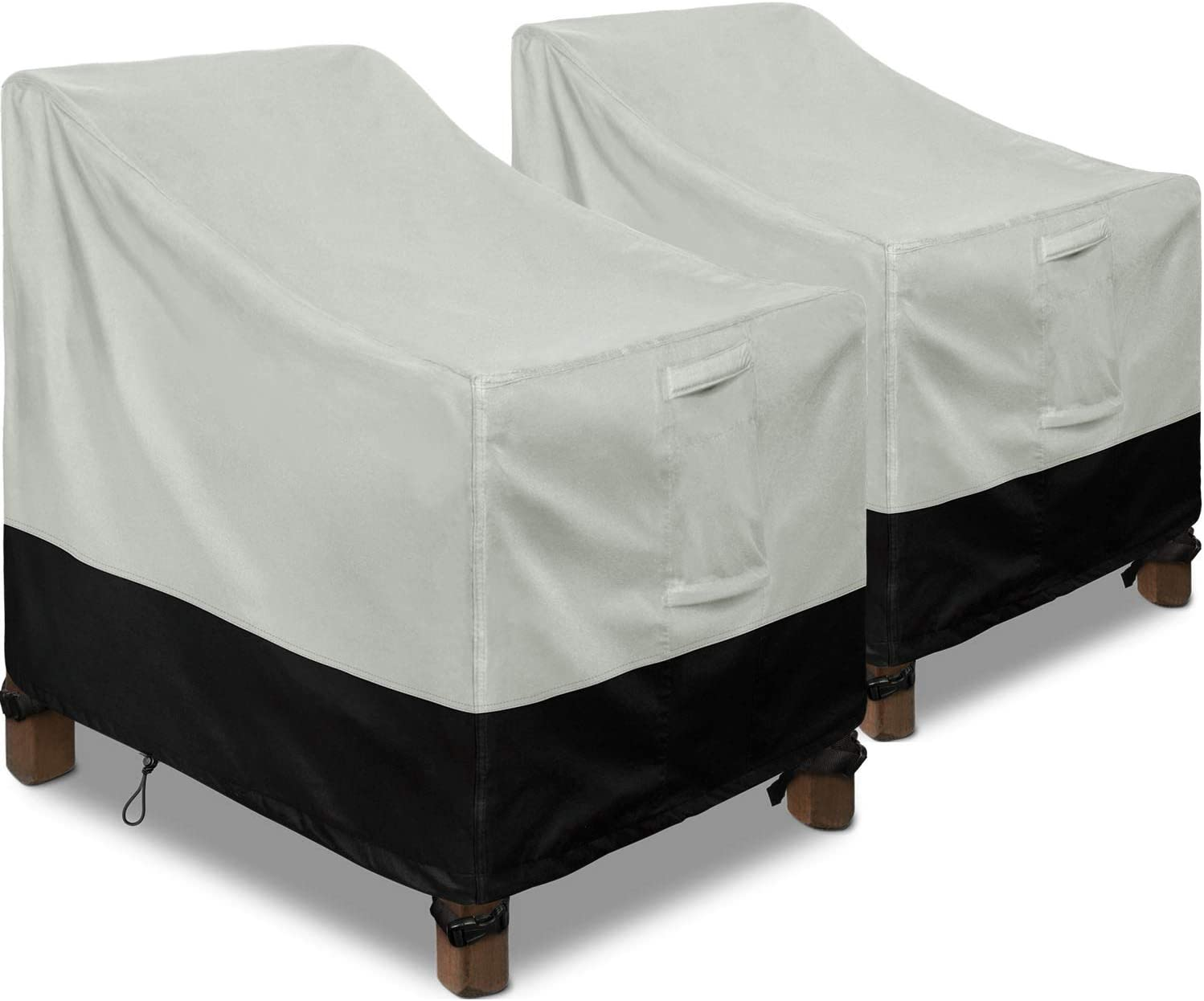 Patio Chair Covers, 2 Pack Lounge Deep Seat Cover 30