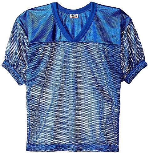 Adams USA FB Youth Jersey with Elastic Sleeve, Royal Blue, L