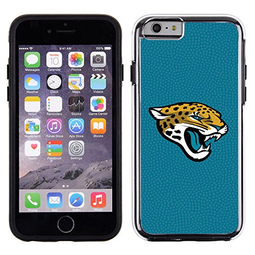 NFL Jacksonville Jaguars Football Pebble Grain Feel No Wordmark iPhone 6 Case, Team (Jacksonville Jaguars Football Case)