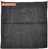 """Steiner 316-18X18 Velvet Shield 16 oz Black Carbonized Fiber Welding Blanket, 18"""" x 18"""", Black"""