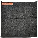 Steiner 316-18X18 Velvet Shield 16-Ounce Black Carbonized Fiber Welding Blanket, 18'' x 18''