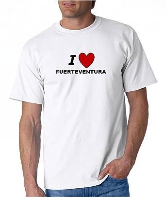 Amazon.com: I Love Fuerteventura – city-series – Camiseta ...