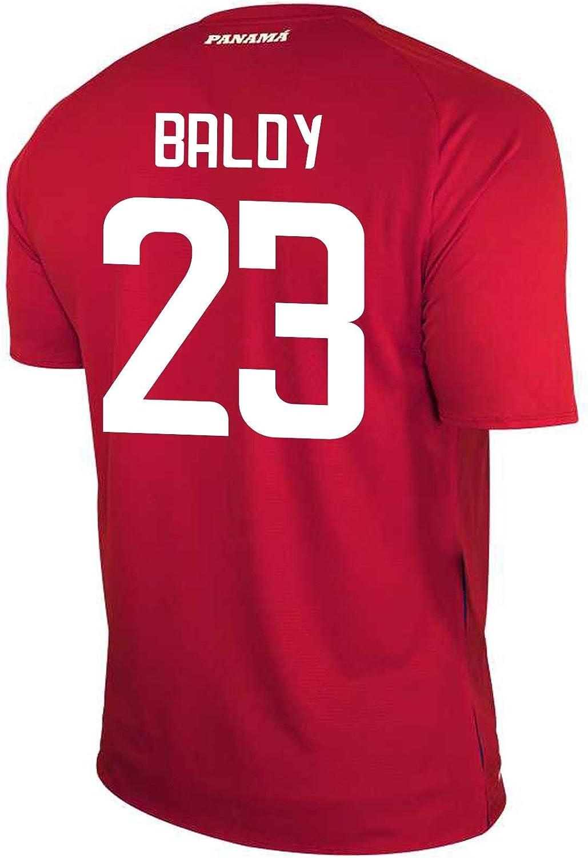 New Balance BALOY #23 Panama Home Soccer Men's Jersey FIFA World Cup Russia 2018