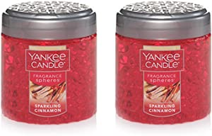 Yankee Candle 2 Pack Sparkling Cinnamon Fragrance Spheres Beads