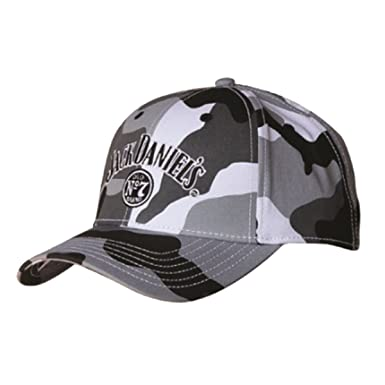 39325eb38 Jack Daniels Baseball Cap, Winter Camo (JD77-81)