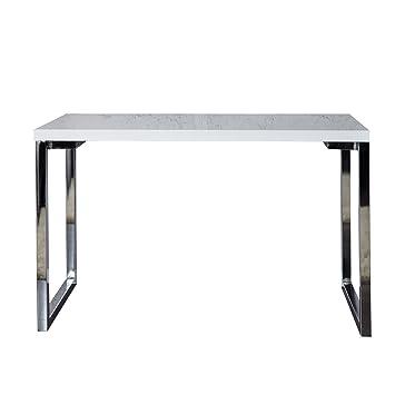 Invicta Interior Design Laptoptisch WHITE DESK 120x60 cm hochglanz ...