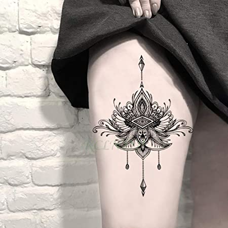 ljmljm 5pcs Impermeable Tatuaje del ala del ángel de la Muchacha ...