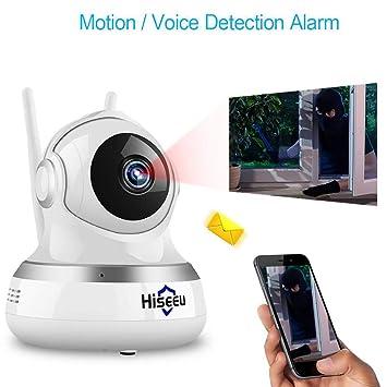 Monitor de bebé Cámara inalámbrica de 2 megapíxeles Detector de Voz bidireccional Detección de Alarma móvil Compatible con Android/iOS: Amazon.es: Deportes ...