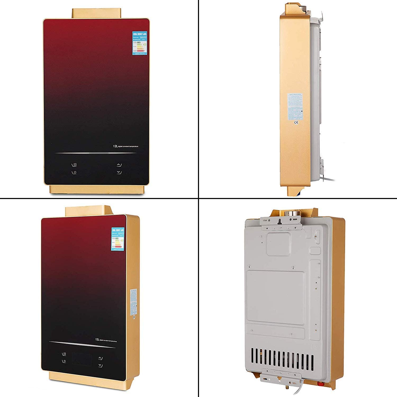 12L LNG FlowerW 12L LNG Gas-Warmwasserbereiter mit Digitaler LCD-Warmwasserbereiter Automatische Konstante Temperatur