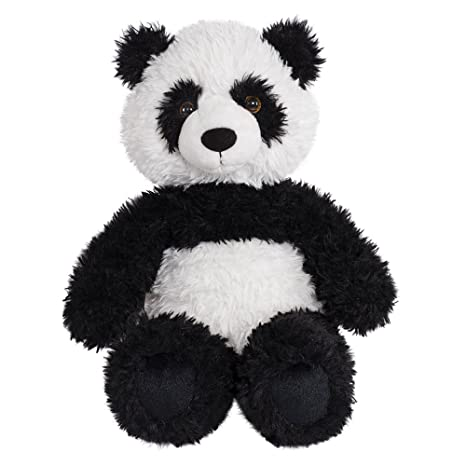 Amazon Com Vermont Teddy Bear Oh So Soft Panda Stuffed Animals And